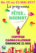 Programme fêtes de Sigebert 2017