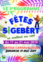 Programme des fêtes de Sigebert 2019